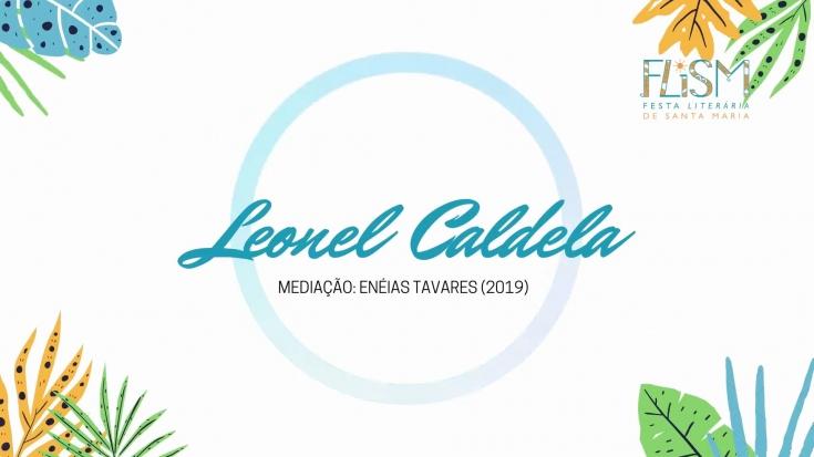 Leonel Caldela na FLISM
