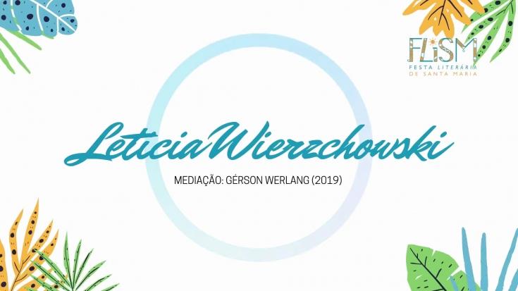 Leticia Wierzchowski na FLISM