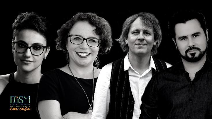 Literatura de/em Santa Maria, com Bianca Zasso, Gérson Werlang, Nikelen Witter e Enéias Tavares